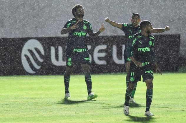 O Palmeiras construiu uma ótima vantagem no jogo de ida das oitavas de final da Copa do Brasil, nesta quinta-feira, ao vencer o Bragantino, por 3 a 1, na casa do adversário. O Alviverde teve um ótimo início de jogo e recebeu muitas notas boas. Confira as avaliações (Por Nosso Palestra).