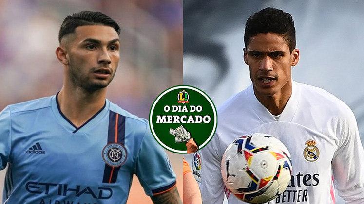 O Palmeiras está cada vez mais próximo de anunciar o seu mais novo reforço para a próxima temporada e a negociação está encaminhada. O Manchester United buscará para a próxima temporada uma lista de zagueiros para reforçar o setor. Tudo isso e muito mais no Dia do Mercado de segunda-feira. (por Redação São Paulo)