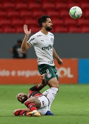 O Palmeiras foi derrotado pelo Flamengo por 2 a 0, na noite desta quinta-feira, no estádio Mané Garrincha, em Brasília, pela 31ª rodada do Brasileirão. A dupla de zaga do Verdão falhou e marcou um gol contra para o Flamengo na etapa inicial. Confira as notas do Palmeiras no LANCE! (por Nosso Palestra)