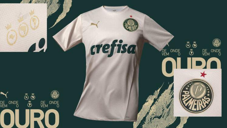 O Palmeiras lançou, nesta quarta-feira, seu novo uniforme 3, assinado pela Puma. Através da campanha
