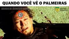 Memes: palmeirenses brincam com corintianos após goleada