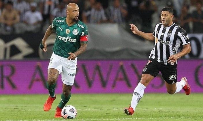 O Palmeiras se classificou para a grande final da Copa Libertadores 2021 ao empatar por 1 a 1 com o Atlético-MG nesta terça-feira, no Mineirão, no duelo de volta da semifinal. Felipe Melo foi o melhor em campo, comandando o sistema de marcação do Verdão, e a estrela de Dudu brilhou no gol do time alviverde. Confira as notas do Palmeiras no LANCE! (por Nosso Palestra)