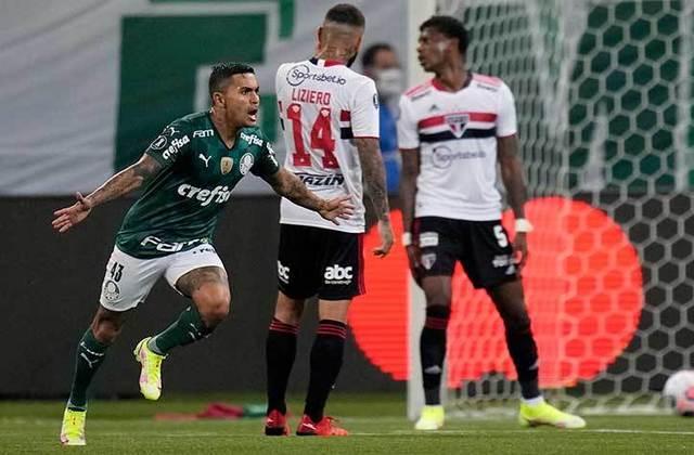 O Palmeiras superou o São Paulo nas quartas de final da Copa Libertadores 2021 pelo placar agregado de 4 a 1. Com a classificação, o Verdão se tornou semifinalista do torneio continental pela nona vez. Relembre todas as oito semifinais disputadas pelo Palmeiras na Libertadores. Confira