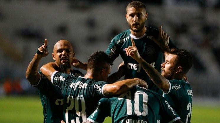 O Palmeiras utilizou 25 jogadores diferentes em 12 partidas oficiais na temporada. Veja quanto tempo cada um atuou, contando os acréscimos.
