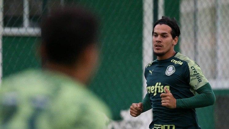O Palmeiras utilizou dois estrangeiros no Brasileirão: Gustavo Gómez (paraguaio) e Matías Viña (uruguaio)