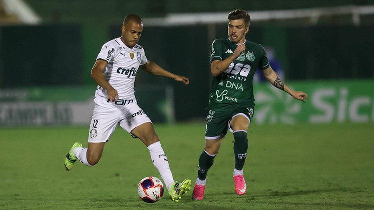 O Palmeiras venceu, de virada, o Guarani por 2 a 1 na noite desta sexta-feira, em Campinas, pelo Campeonato Paulista. Zé Rafael, que entrou no intervalo, e Willian, autor do segundo gol, foram os melhores do Verdão. Confira as notas do Palmeiras no LANCE! (por Nosso Palestra)