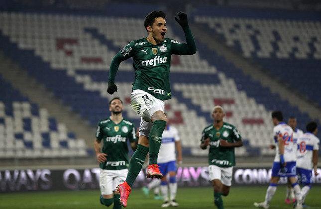 O Palmeiras venceu fora de casa, no jogo de ida, por 1 a 0. Agora, o Verdão pode até empatar em casa que avança. Em caso de derrota por 1 a 0, a decisão vai para os pênaltis. Quem se classificar pega São Paulo ou Racing.
