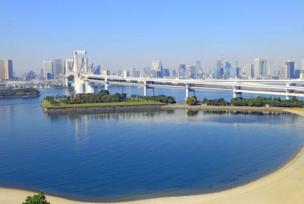 O Paque Odaiba Marine será sede da maratona aquática, bem como do triathlon. Haverá uma estrutura temporária no local para a disputa das provas previstas no programa.