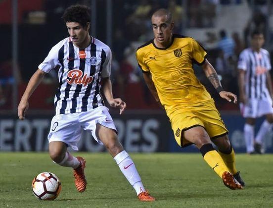 O paraguaio Iván Franco tem 20 anos e é o camisa 10 do Libertad, além de ser considerado uma grande promessa do futebol do Paraguai.