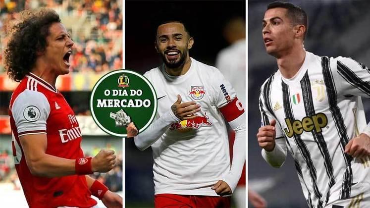 O Paris Saint-Germain está disposto a contratar Cristiano Ronaldo após frustração em outras negociações. David Luiz deixa o Arsenal oficialmente. Claudinho está muito próximo de deixar o RB Bragantino rumo à Europa. Tudo isso e muito mais no Dia do Mercado de quinta-feira (3)
