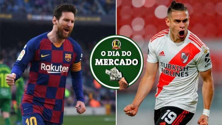 O Paris Saint Germain já começou a se mexer nos bastidores por uma possível chegada de Lionel Messi na próxima temporada. Palmeiras define o futuro do negócio com o River Plate e Borré. Tudo isso e muito mais no Dia do Mercado de sexta-feira.