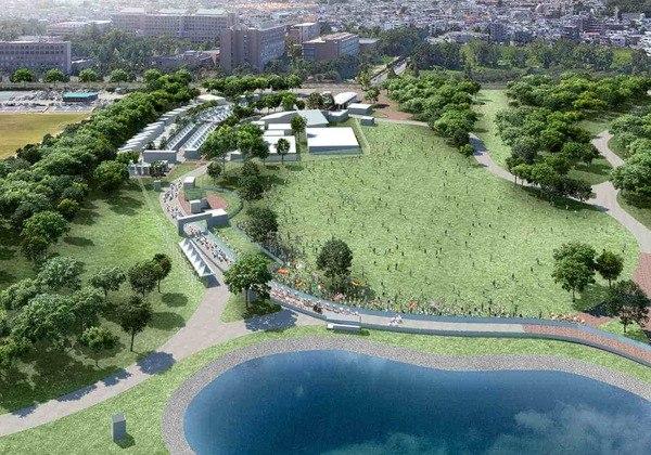O Parque Musashinonomori será o local de largada da prova de ciclismo de estrada dos Jogos Olímpicos. A paisagem, que compõe a floresta de Musashino, é uma atração à parte.