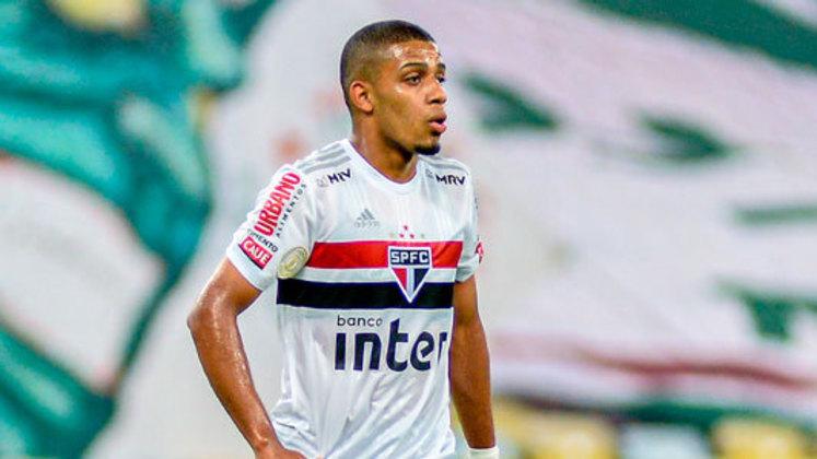 O patrocínio master do São Paulo é o Banco Inter. Estampado na parte da frente da camisa tricolor, o banco paga um valor mensal de R$ 1 milhão, e o contrato é válido até o final de fevereiro de 2021. A informação é do jornalista Jorge Nicola