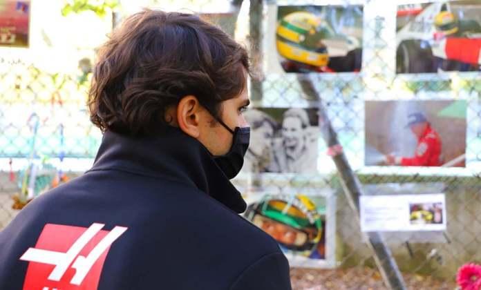 O piloto de desenvolvimento da Haas observou as homenagens feitas por fãs de todo o mundo
