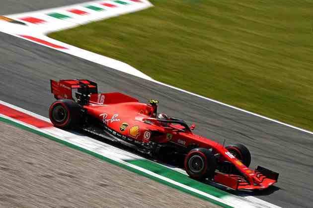 O piloto monegasco voltou a ter dificuldades com o carro na veloz pista italiana
