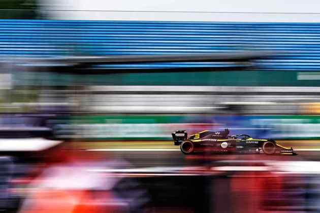 O piloto vinha em uma sequência de três corridas pontuando