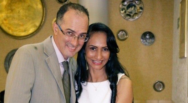 Soares e Shanasis fizeram permutas para realizar a festa de casamento