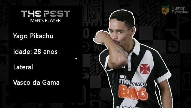 O polivalente Yago Pikachu não teve uma boa temporada e agora está em uma nova posição: o banco de reservas do Vasco.