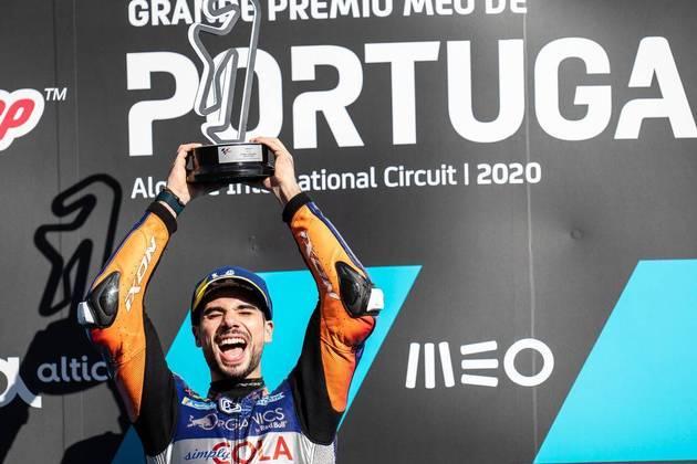 O português ainda tratou de ter uma grande vitória caseira ao vencer o primeiro GP de Portugal da MotoGP