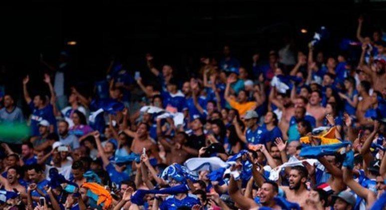 O preço médio do ingresso do Cruzeiro no Mineirão foi de 25 reais em 2019. O Cabuloso teve média de público de 23.833 (28 jogos).