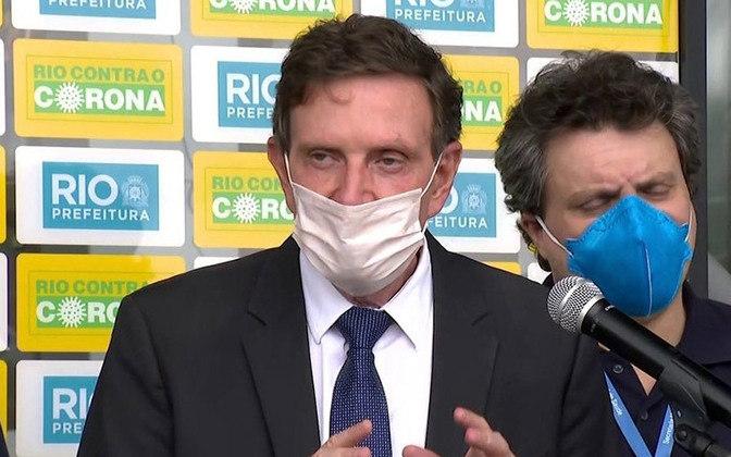 O prefeito do Rio de Janeiro, Marcelo Crivella, pressionado pela dupla Flamengo e Vasco liberou a volta aos treinos coletivos em junho.