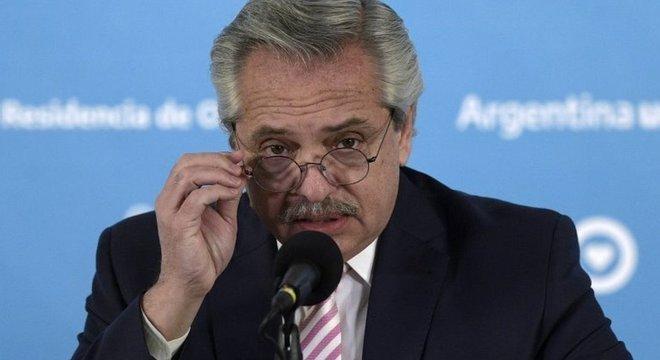 O coronavírus se espalhou por toda a Argentina, disse o presidente Alberto Fernández