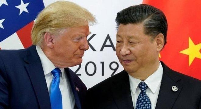 Relação entre China e EUA foi um dos pontos da campanha de Donald Trump em sua tentativa de reeleição