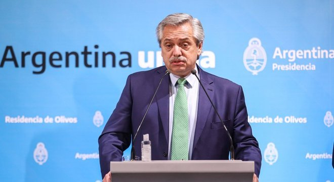 Para analistas, o presidente Alberto Fernández melhorou sua imagem com o combate ao novo coronavírus