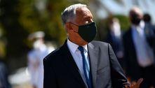 Bolsonaro recebe o presidente de Portugal,Marcelo Rebelo de Sousa