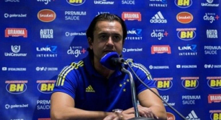 O presidente da Raposa pediu que o torcedor apoie e está otimista com a melhora da equipe na Série B