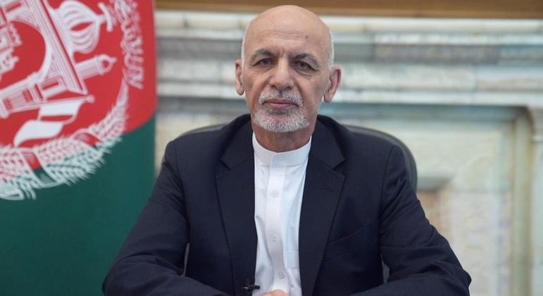 Ashraf Ghani deixou Cabul, capital do Afeganistão, no dia 15 de agosto