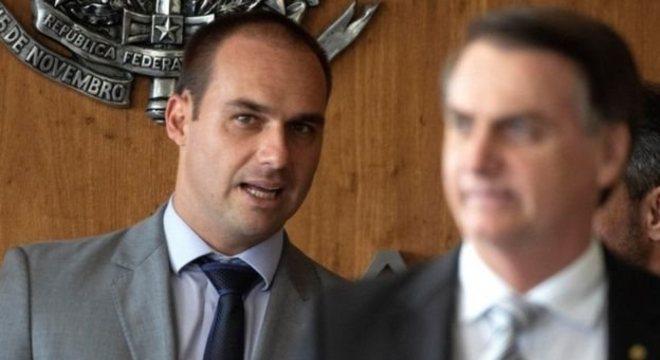 Bolsonaro afirmou que escolheu o filho para o ser embaixador do Brasil nos EUA
