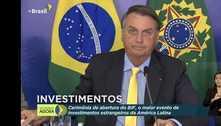 Bolsonaro exalta vacinação, mas admite riscos a investidores