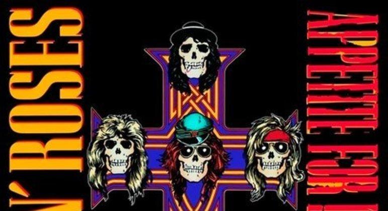 O primeiro álbum lançado pelo Guns N' Roses o álbum vendeu aproximadamente 40 milhões de cópias.