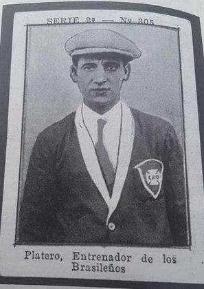 O primeiro técnico estrangeiro da história do São Paulo foi o uruguaio Ramón Platero