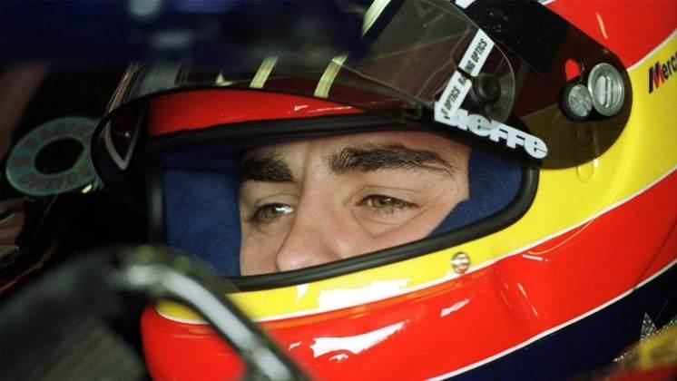 O primeiro teste de Alonso na Fórmula 1 aconteceu em 1999, na Minardi, mas a participação mais notável do espanhol antes de entrar no grid foi pela Benetton, em 2000