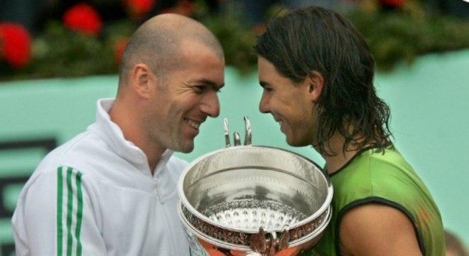 O primeiro título de Nadal em Roland Garros foi conquistado em 2005. Estreante no torneio aos 18 anos, o espanhol bateu o argentino Mariano Puerta por 3 a 1, com 6-7 (6-8), 6-3, 6-1 e 7-5.