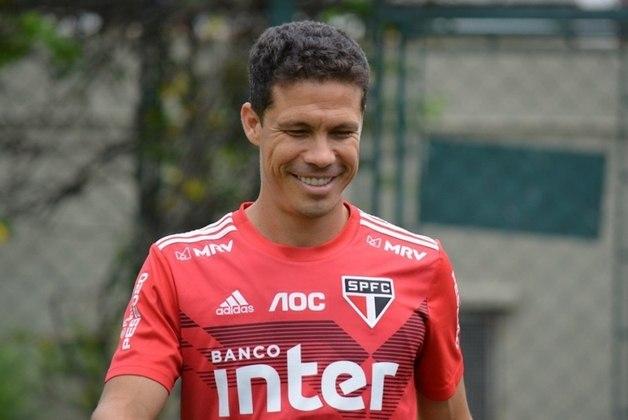 O 'Profeta' Hernanes é um dos líderes do São Paulo e sempre se destacou pela sua liderança e boa relação no vestiário.