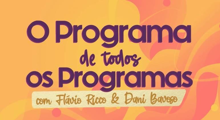 Programa semanal do Portal R7 com Flávio Ricco e Dani Bavoso