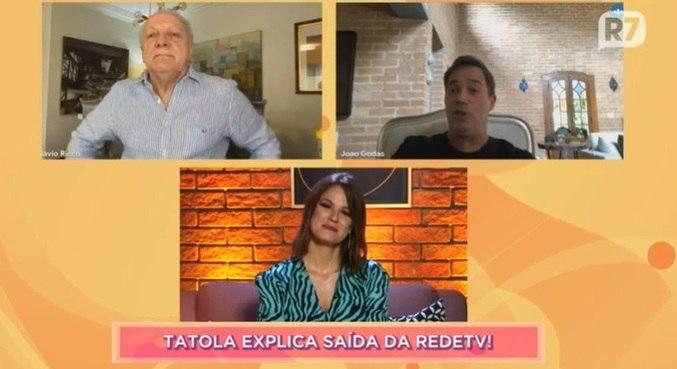 Tatola Godas conversou com Dani Bavoso e Flavio Ricco