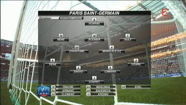 O PSG da temporada 2010/2011 foi quarto colocado no Campeonato Francês, vice-campeão da Copa da França, semifinalista da Copa da Liga Francesa, vice-campeão da Supercopa da França e eliminado nas oitavas de final da Liga Europa.