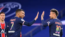 Técnico do PSG minimiza possível atrito entre Mbappé e Neymar
