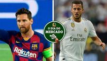 PSG planeja temporada com Messi no clube, Real Madrid quer vender jogadores… O Dia do Mercado