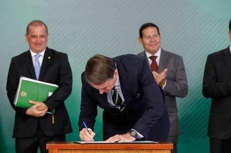 Decreto foi assinado por Bolsonaro em 15 de janeiro
