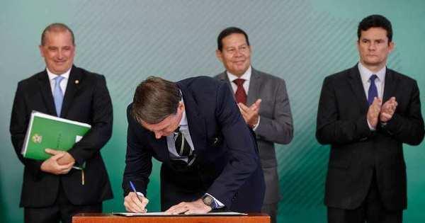 Ação no STF questiona decreto das armas de fogo de Bolsonaro