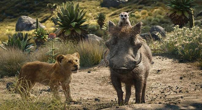 Timão e Pumba seguem como destaque do filme