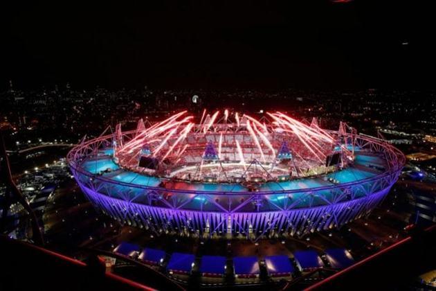O Reino Unido foi palco três vezes dos Jogos Olímpicos de Verão. Todas essas edições aconteceram em Londres, capital da Inglaterra - 1908, 1948 e, mais recentemente, 2012 (foto)