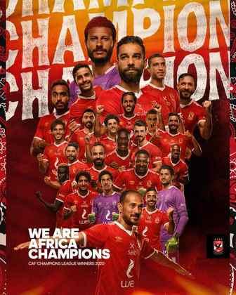 O representante da África é o Al-Ahly, que conquistou a Champions local diante do Zamalek, ambos os times egípcios.