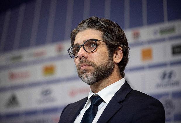 O respeito por ele é tão grande que ele voltou para ocupar o cargo de diretor de futebol.
