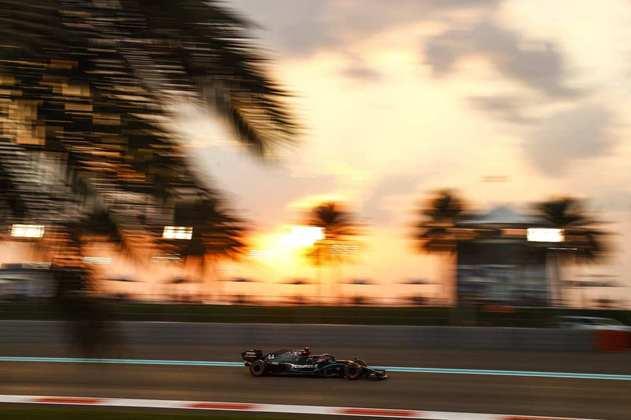 O retorno de Lewis Hamilton em Abu Dhabi.